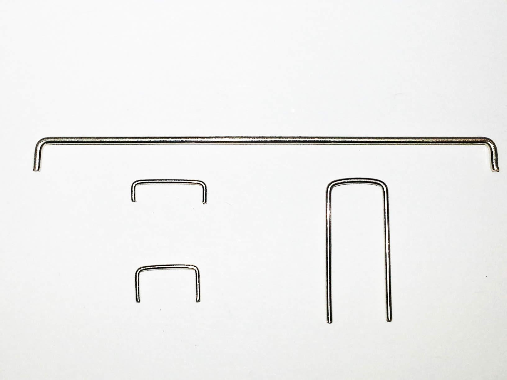 Bare Staple Jumper Wire